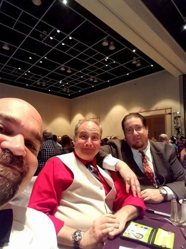 Jason with Penn and Teller